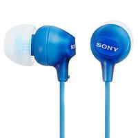 Навушники вакуумні Sony MDR-EX15LP Blue