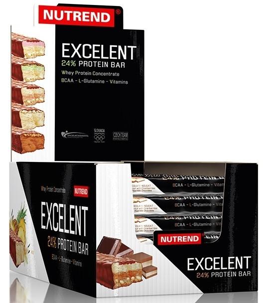 Nutrend Excelent Protein bar 18x85g