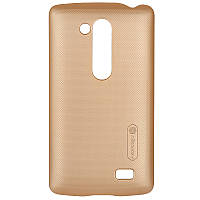 Накладка Nillkin LG L70+/D295/Fino Super Frosted Shield Gold