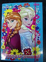 """491274 Папка для тетрадей картоная В5 """"Frozen"""""""