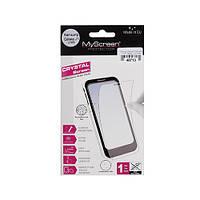Захисна плівка MyScreen Samsung J100H Galaxy J1 Crystal antiBacterial Clear