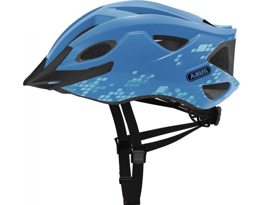 Велошлем ABUS S-CENSION Diamond Blue (L)