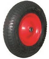 Колесо пневматическое на тачку 4,00-8 ось 16 мм,200400816