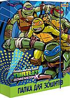 """491281 Папка для тетрадей картоная В5 """"Ninja Turtles"""""""