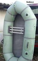 Резиновая лодка Лисичанка Байкал с увеличенным баллоном полтораместная