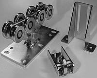 Комплект фурнитуры для откатных ворот Alutech (до 500 кг), фото 1
