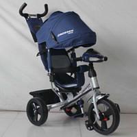 Детский трехколесный велосипед Azimut Crosser One Т-1 на колесах EVA