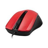 Мишка USB класична Gembird MUS-101 Red