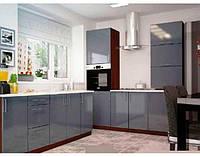 Кухня с акриловым фасадом