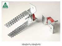 Звукоизоляционное крепление Vibrofix P для подвесных потолков