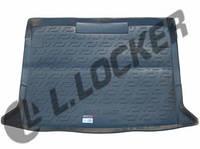 Резиновый коврик в багажник Renault Kangoo пассажир 08-  Lada Locer (Локер)