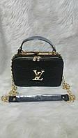 Купить черная с золотом сумка луи витон