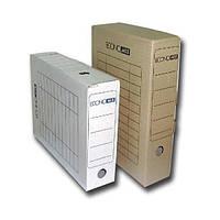 Бокс архивный Economix Е32704-07, 10 см, картон коричневый
