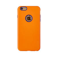 Накладка Araree iPhone 6 Plus/6s Plus TPU+PC Araree Amy case Orange Navy