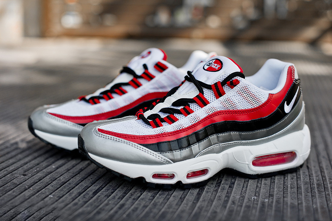 size 40 1445b 058d8 ... Кроссовки Nike Air Max 95 Essential University Red, ...