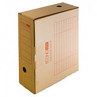 Бокс архивный Economix Е32701, 8 см, картон коричневый