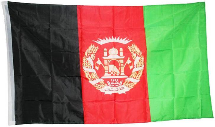 Национальный флаг Афганистана 90х150см, фото 2