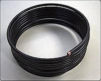 Трубка газовая ГБО медная в пластике 6мм  1м