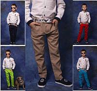 Льняные брюки для мальчика №868 (р.116-152)