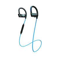 Навушники вакуумні з мікрофоном безпровідні Jabra Sport Pace Blue