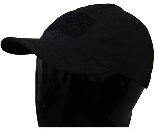 Чёрная тактическая бейсболка, фото 2