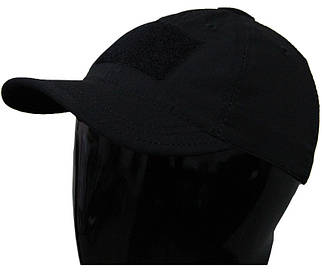 Чорна тактична бейсболка