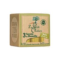 LE PETIT OLIVIER Марсельское мыло Масло Оливы 100% vegetal oils soap