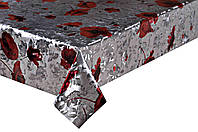 Клеенка Силиконовая Двухсторонняя Серебро (20м*1,4м), фото 1