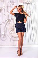 Модний жіночий літній костюм:шорти і кофточка