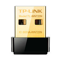 Мережевий адаптер USB TP-Link TL-WN725N Black