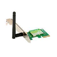 Мережевий адаптер PCI Express x1 TP-Link TL-WN781ND Black