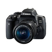 Фотоапарат Canon EOS 750D kit (18-55mm) Black