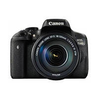 Фотоапарат Canon EOS 750D kit (18-135mm) EF-S IS STM Black