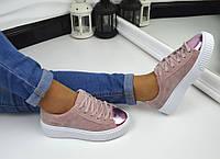 Кроссовки криперы копия PUMA By Rihanna CREEPER с 36по39 размер pink