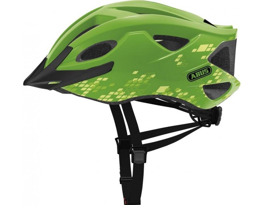 Велошлем ABUS S-CENSION Diamond Green (L)