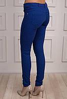 Молодежные женский брюки с накладными карманами