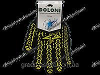 Перчатки рабочие Долони со звездой черные арт.562