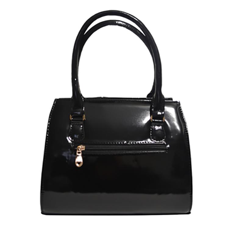 5e77b1a4a33a Сумка женская черная лаковая стильная каркасная, цена 640 грн., купить в  Черновцах — Prom.ua (ID#520260961)