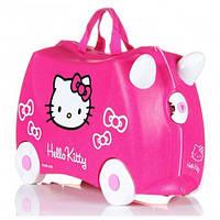 Чемодан детский на колесах Hello Kitty (хеллоу китти)