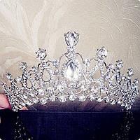 Свадебная диадема тиара Арвен корона на голову
