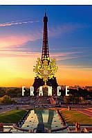 Блокнот 80л. (108х169мм) Париж