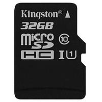 Карта пам'яті MicroSDHC Kingston SDC10G2/32GBSP Black
