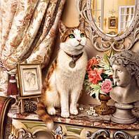 Набор алмазной мозаики Любимый кот 45 х 45 см (арт. FS500)