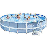 Intex 28762 (28262) (732х132 см.) Каркасный бассейн Metal Frame Pool