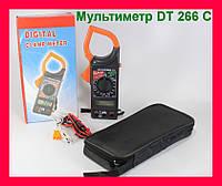 Мультиметр DT 266 C с токоизмерительными клещами!Акция