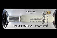 "Парфюм миниатюра на блистере Chanel ""Platinum Egoiste"" 20 мл для мужчин"
