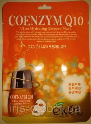 Маска тканевая скоэнзимом Q10 EKEL Natural Beauty Coenzym Q10