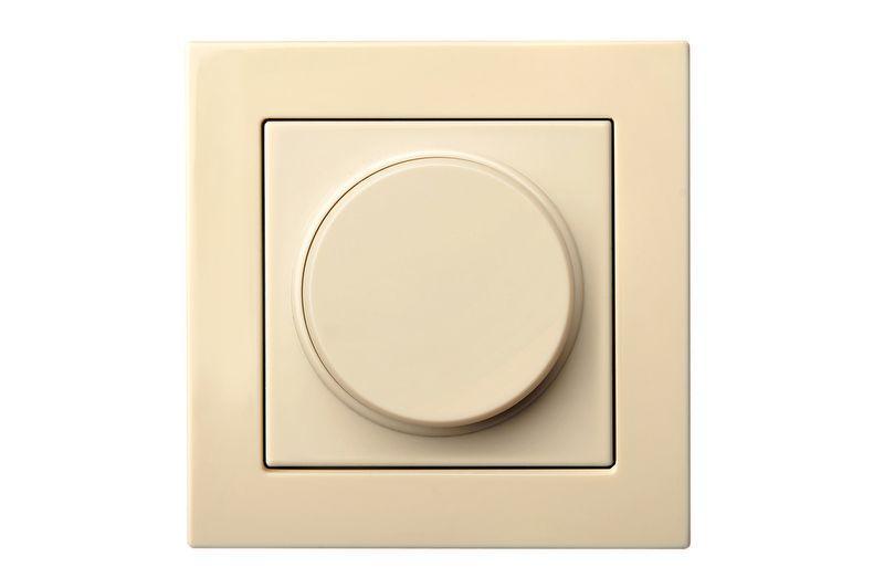 Світлорегулятор (диммер) 3-100 W LED-ламп leding edge control, слонова кістка, Epsilon
