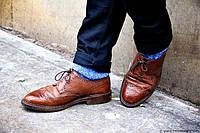 Можно ли носить туфли с джинсами?