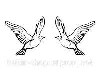 Штамп Пара голубей